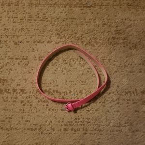Girl's L Hot Pink Belt